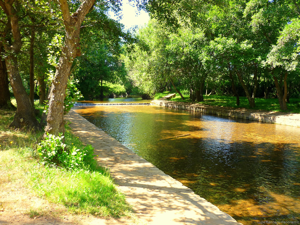 Sitio web de las huertas de cansa alrededores for Piscinas naturales en portugal